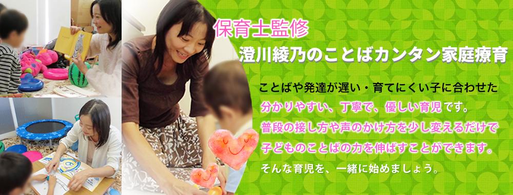 澄川綾乃のことばカンタン家庭療育のサービス