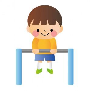 感覚統合とは?発達順の問題点と家庭での改善方法:鉄棒:2つの同時動作