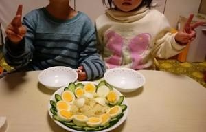 発達障害・自閉症育児のカンタン家庭療育 サラダづくりのお手伝い