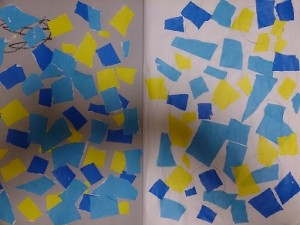発達障害・自閉症のカンタン家庭療育 切り絵・貼り絵