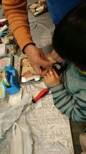 発達障害・自閉症育児のカンタン家庭療育 ドライバーを使った工作