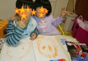 発達障害・自閉症育児のカンタン家庭療育 節分の鬼の絵