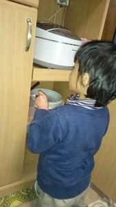 自閉症の息子5歳 お手伝いも上手に・お料理大好き