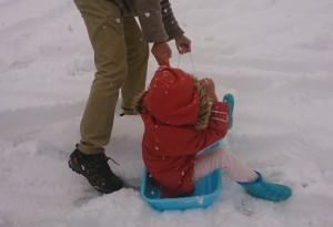 発達障害・自閉症のカンタン家庭療育 そり遊び