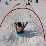 >自閉症の息子4歳 多動傾向で運動にいかす そり遊び