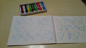 カンタン家庭療育 お絵かきを教える方法