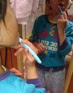 カンタン家庭療育 歯磨き