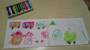 カンタン家庭療育 お絵描きを教える方法
