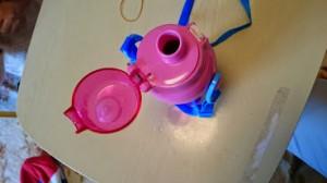 カンタン家庭療育 遠足の水筒1
