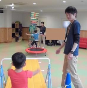 放課後デイサービス スポーツキッズ上社さま 療育研修 サーキットトレーニング