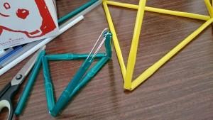 カンタン家庭療育 手作りおもちゃ トライアングル3