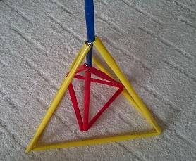カンタン家庭療育 手作りおもちゃ トライアングル