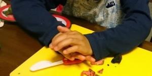 カンタン家庭療育 粘土遊び 型抜き