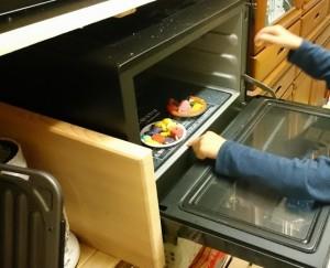 カンタン家庭療育 粘土遊び クッキーを焼く
