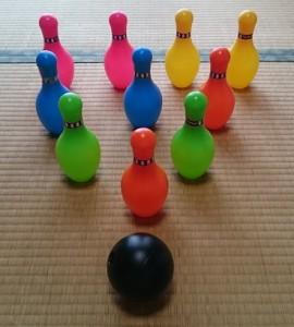 カンタン家庭療育 ボーリング 数を教える