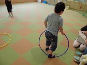 カンタン家庭療育 スポーツキッズ上社さま 縄跳びの練習2