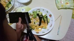 カンタン家庭療育 チラシ寿司
