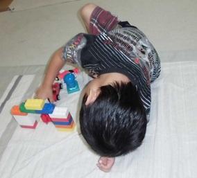 カンタン家庭療育 動作模倣音声模倣