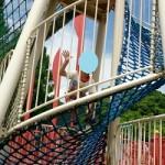 自閉症の息子5歳 運動面がますます伸び 網上りも上手にできる
