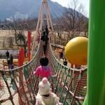 自閉症の息子5歳 運動面がますます伸び 吊橋もスイスイ