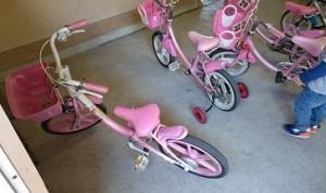 カンタン家庭療育 自転車練習場 畜産センター
