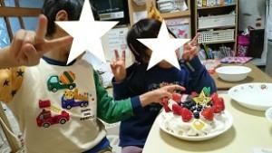 自閉症の息子とクリスマスケーキづくり