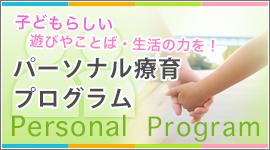 子どもらしい遊びやことば、生活の力を パーソナル療育プログラム