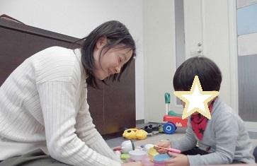 パーソナル療育プログラム・言葉が遅い3歳の子ども 澄川綾乃のカンタン家庭療育