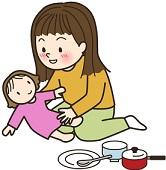 2歳児の発達の特徴 ままごとなどのごっこ遊びと言葉の発達