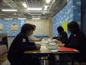 放課後等デイサービス:ジムズキッズ・ジュニアの職員研修