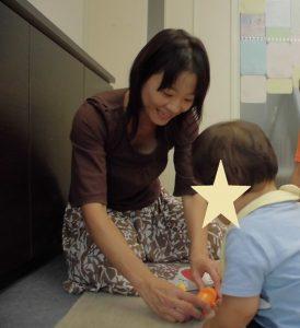 1歳 喃語も増えてごにょごにょと一人でお話し!パーソナル療育プログラム