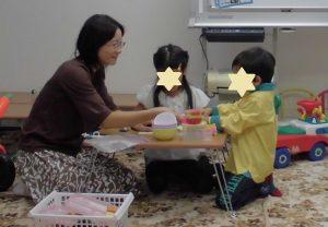 園での出来事を伝えたりママの伝言を先生へ!言葉集中療育プログラム