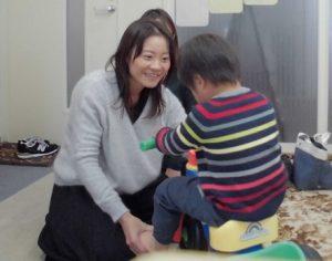 3歳「とって」で手渡せるように!パーソナル療育プログラム
