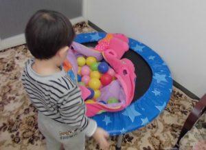 2歳 痛いの「いー」 感覚統合の訓練:パーソナル療育プログラム