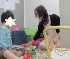 4歳 動詞や形容詞の語彙が増えて使えるように!パーソナル療育プログラム