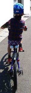 感覚統合に自転車 自閉症・多動の息子は元気いっぱい