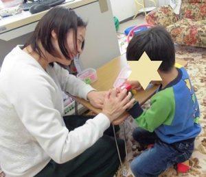 5歳年中の家庭療育プログラム:なんで泣いてるのか理由を言えるように!