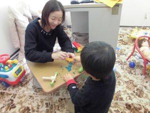 自閉症の子の遊びは出来ることから広げていこう
