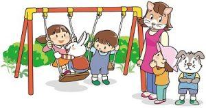 加配とは?・どうして必要なの?発達障害や自閉症、言葉が遅い子に加配をつける理由 ブランコに並ぶよう促す