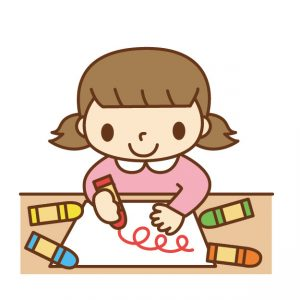 自閉症の子どもに絵を教えよう ぐるぐる