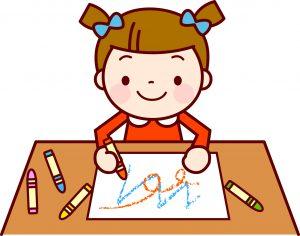 自閉症の子どもに絵を教えよう:なぐりがき