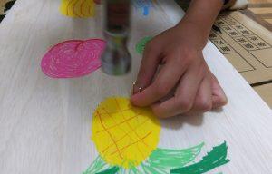 自閉症の息子:小4と定型の娘:小2 夏休みの工作:宝物づくり