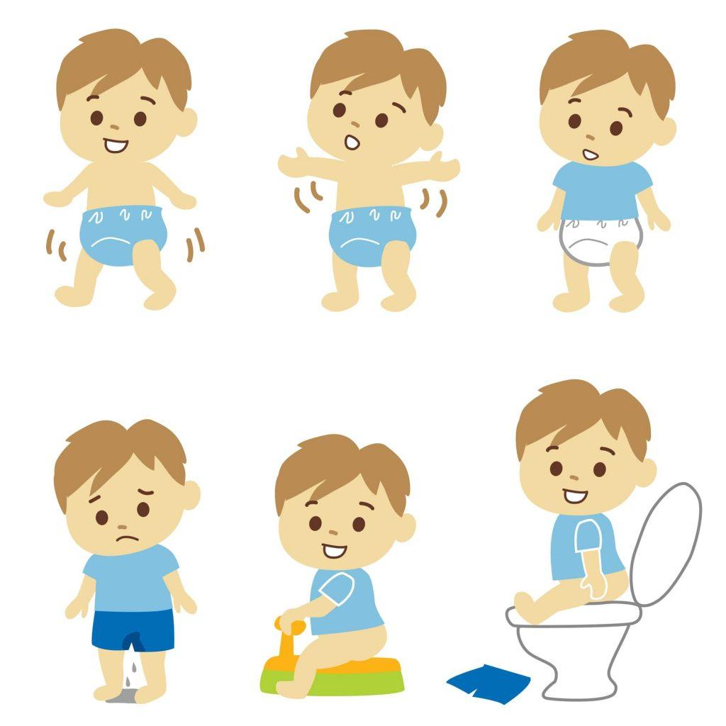 トイレトレーニング成功までの流れ