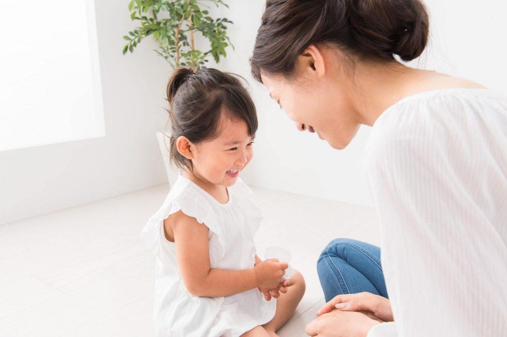 幼児の言葉の発達イメージ