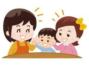 会話を楽しむ親子 療育の効果を言葉でも実感