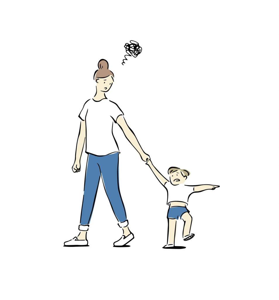 子どものコミュニケーションに困る母親