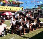 自閉症の息子5歳の運動会は組体操