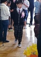 自閉症の息子の卒園式・小学校の入学式 のために工夫した服装