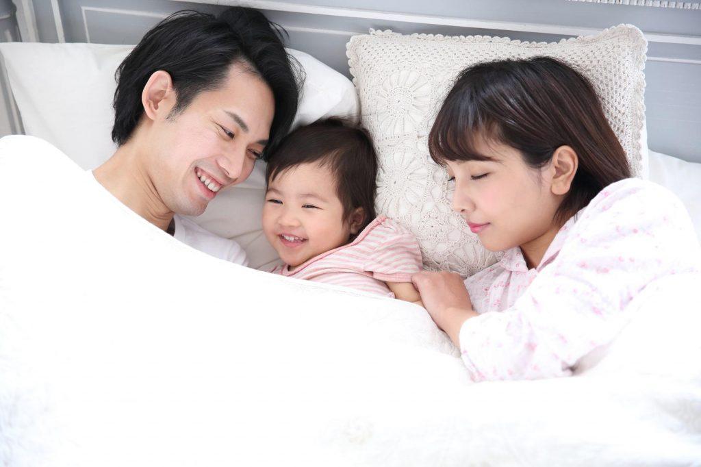 家族で睡眠