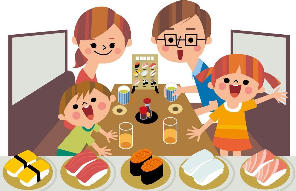 子どもと外食